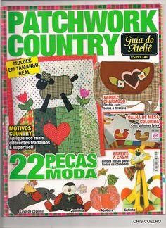 158 Guia do atelie PATCHWORK country n. 18 - maria cristina Coelho - Álbumes web de Picasa