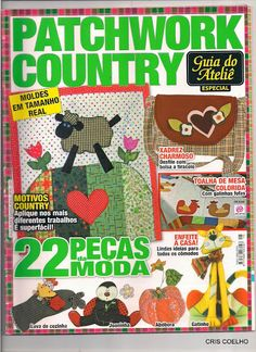 158 Guia do atelie PATCHWORK country n. 18 - maria cristina Coelho - Веб-альбомы Picasa