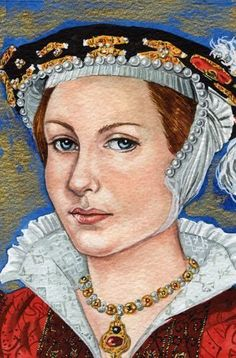 Catherine Parr by Mark Satchwill