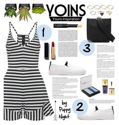 """Yoins 2"" by poppynight ❤ liked on Polyvore featuring Anja, The French Bee, Max Factor, Chanel, Yves Saint Laurent, Forever 21 and NARS Cosmetics"
