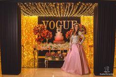Festa Tema Vogue de 15 anos da Ana Clara - Debuteen - O Blog da Debutante