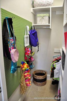 Kid's Closet Organization - Evolution of Style