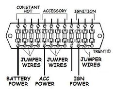 automotive wiring basic symbols  1  switch   2  battery