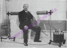 Georges Lakhovsky au milieu de l'OLOM / MWO, champs électromagnétiques pulsés