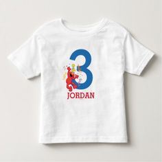 Sesame Street   Elmo - Rainbow Birthday Toddler T-shirt - tap to personalize and get yours