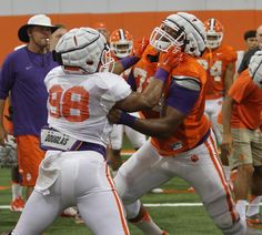 Check out these video highlights of Clemson practice on day three and four http://theclemsoninsider.com/2015/08/10/clemson-highlights-day-three-and-four/ …