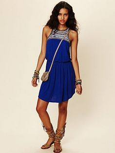 Cute summer festival dress