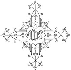 embroidery patterns | Ecclesiastical & Church Embroidery Patterns – Needle'nThread.com