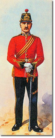 British Empire: Armed Forces: Units: British Infantry: 50th (or the West Kent) Regiment of Foot