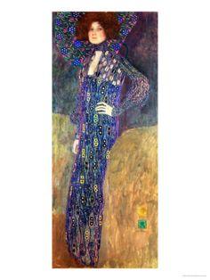 Emilie Floege Giclée-Druck von Gustav Klimt bei AllPosters.de