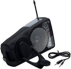 "Emergency Crank Radio - Solar Radio Flashlight iPod Player with Weather Band by Freeplay Energy. $39.99. 25 hours of play time on full charge. 30-second wind provides 35 minutes of play time. Dimensions: Length: 7.3"", Height: 4.4"", Width: 2.4"". Weight: 24.5 oz. 2 Year Warranty for defects in materials or workmanship. Never be out of the loop with the Eyemax WB 2009 Emergency Crank Radio. Electricity is not a problem - just use the hand crank to generate power. If it's sunny ou..."