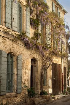 Arles, France--this is the town where Van Gogh stayed that summer of 1888...when he wrote about Provence reawakening his lust for life...where several of his lovely landscapes were done.