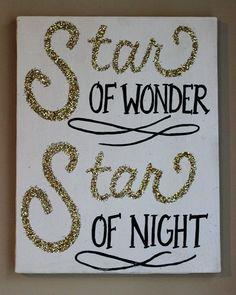 Star of wonder sign, $25