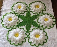Daisy Web Doily Crochet Doilies Pinterest Häkeln