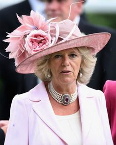 Duchess of Cornwall | The Royal Hats Blog:  The Duchess of Cornwall at Ascot, June 17, 2009
