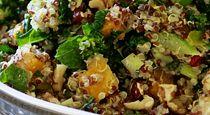 Butternut Squash and Kale Quinoa Stuffing...9 Quinoa recipes here!!