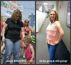 Lauren 30 lbs gone and still going!