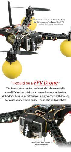 STORM Drone 4 Flying Platform (V2) http://www.helipal.com/storm-drone-4-flying-platform-v2.html