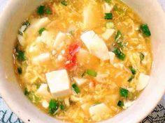 風邪をひいたら=豆腐のおろし卵あんかけの画像