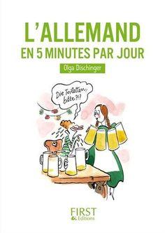 C'est parti pour ma première chronique de livre :–). L'allemand en 5 minutes par jour, est le premier livre que j'ai acquis après mettre lancé le défi de devenir bilingue en allemand. J'ai été séduit par son titre accrocheur, qui promet un apprentissage quotidien, mais aussi, je dois l'avouer, pour son prix de 2,99€ sur Amazon   ... extrait de Allemand-Malin © Arnaud Fuchs, sauf indications contraires. Savoir plus : http://allemand-malin.com/livre-lallemand-en-5-minutes-par-jour/ .