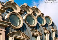 The round windows of the Willard Hotel, Washington DC