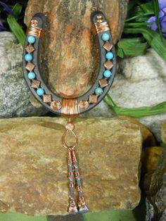 Resultado de imagen para handmade bead wire horse art