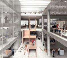 Three winners selected for Aarhus' NEW AARCH school, will compete against SANAA, BIG, and Lacaton & Vassal