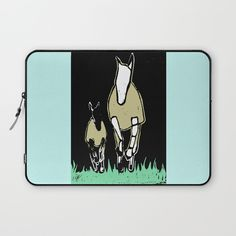 Horses Laptop Sleeve