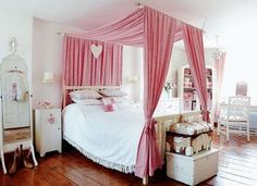 Dreamy romantic girly pink