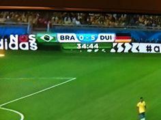 Dag 2: frustratie - voor de Brazilianen