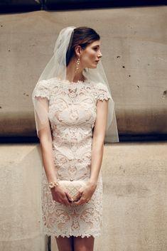 BHLDN Lillian Dress via @dressforwedding