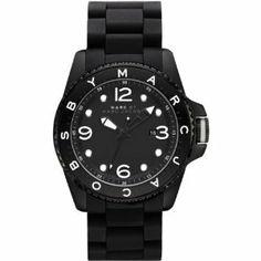 Marc by Marc Jacobs MBM2570 Men's Diver All Black Watch Marc by Marc Jacobs. $143.00. Marc Jacobs MBM2570 Men's Diver Black Sstainless Steel Bracelet Black Dial Watch