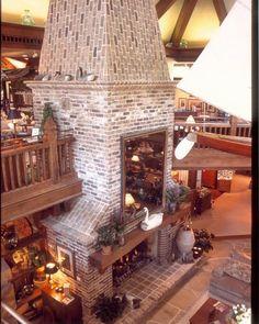 Savannah Grey Handmade Brick Fireplace