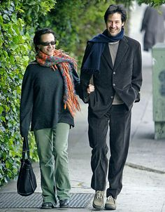 "Keanu Reeves, Kim Reeves    This (I believe) is Keanu's sister, Kim who is his ""closest confidant."""