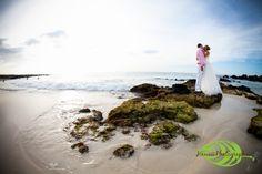 Photo taken at Kua Bay on the West Coast of the Big Island of Hawaii.    Hawaii Photographer | Hawaii Wedding Photographer: Trash the Dress  http://www.hawaiiphotographer.com