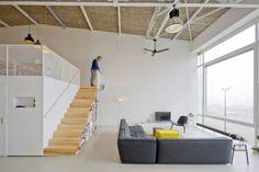 Photo: #Lofts : House like village! love the wall to wall window