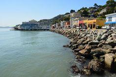 Beautiful Sausalito waterfront | San Francisco, CA