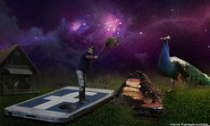 Haris Karagkounidis: Photoshop Manipulation Photography-Gardening For R...