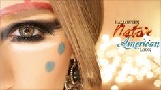 Need an ideal for Halloween costumes? Check out this easy to do Native American inspired look! A creative take on traditional war paints for a fun look! Halloween Looks, Holidays Halloween, Girl Halloween, Rave Costumes, Halloween Costumes, Indian Inspired Makeup, Native American Makeup, Native American Halloween Costume, Pocahontas Costume