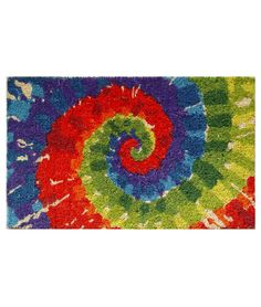 Tie Dye Mat from Uncommon Goods  $28.00  Somehow, I suspect Bob's not going to go for this one...