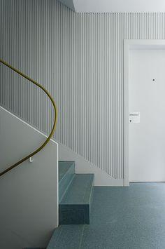 Billedresultat for lewerentz architect handrail Interior Staircase, Arch Interior, Staircase Design, Interior Walls, Interior Architecture, Interior And Exterior, Open Staircase, Staircase Remodel, Staircase Ideas