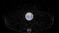 Watch 60 years of space junk accumulate in 60 seconds
