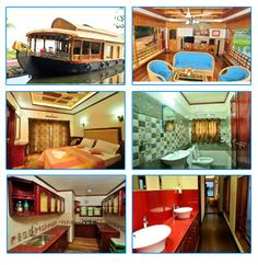 Houseboats, Kerala, Tours, Mansions, House Styles, Fun, Travel, Beautiful, Home Decor