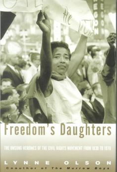 A collection of profiles of some of the fearless, resourceful female leaders of the Civil Rights Movement documents the accomplishments of Ida Wells, who led the protest against lynching; Pauli Murray, who organized the first lunch counter sit-in; Jo Ann Robinson, who helped launch the Montgomery bus boycott; and others.