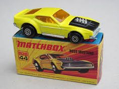 Matchbox 44 Boss Mustang