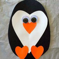 Pingouin en papier