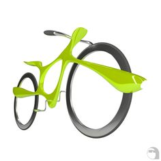 The concept of the bike take inspiration from free and smooth amoeba form. It have beautiful bionic silhouette with innovative system of wheel drive. The e-motor built-in fat frame on each wheel and move a wheel through surface on its inner part. E Motor, Innovative Systems, Fat, Surface, Smooth, Concept, Bike, Silhouette, Inspiration