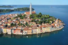 Little villages along the dalmatian coast