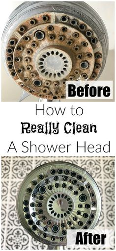 How to easily clean a shower head using just one pantry staple.