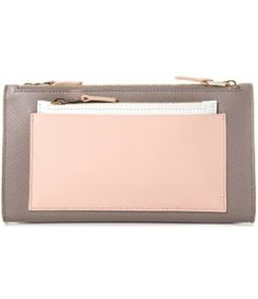 Panama leather wallet